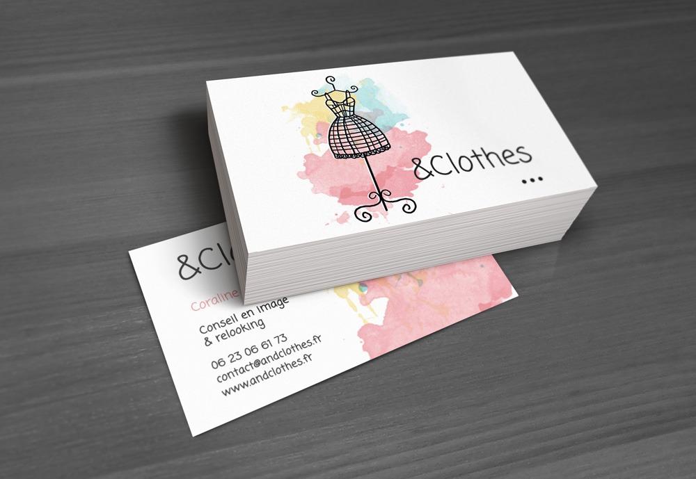 Carte De Visite Clothes Conseil En Image Et Relooking