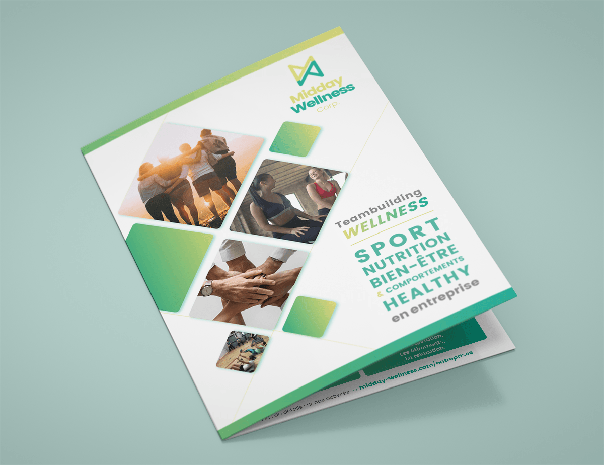 Brochure 2 volets Midday Wellness Corp