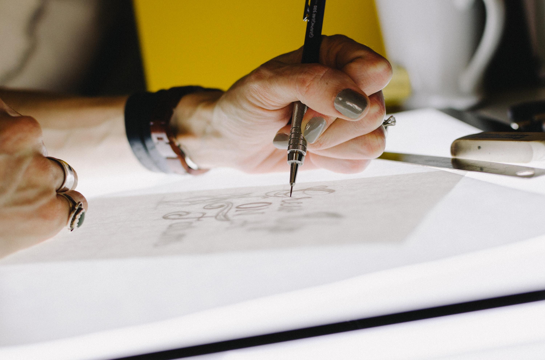La commande de design graphique